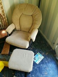 Rocking chair and ottoman Plainfield, 07062