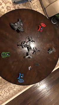 black and gray quadcopter drone with controller Broadlands, 20148