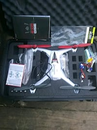 gray and white QX3 drone with hard case Stafford, 22554