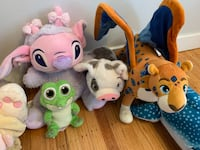 Disney Plush Stuffies - Angel from Lilo & Stitch, Coco, Finding Dory, & More - Excellent Condition 3750 km