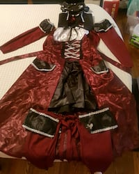 Ladies pirate costume like new Calgary, T3J 3M6