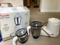 Preethi ECO Twin mixer grinder  Falls Church, 22042