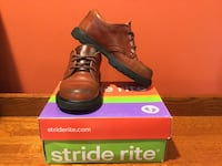 Stride rite james brown leather dress shoes size 10m Burrillville, 02830