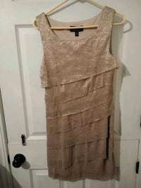 Gold and tan shiny dress Wichita, 67208