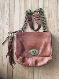 Fossil bag leather