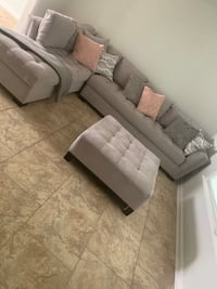 Sectional sofa and ottoman  $800 obo New Orleans, 70130