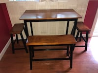 Brown wooden table with chair Tampa, 33611