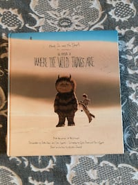 WHERE THE WILD THINGS ARE MOVIE 3-IN-1 BOOK!!!!!!