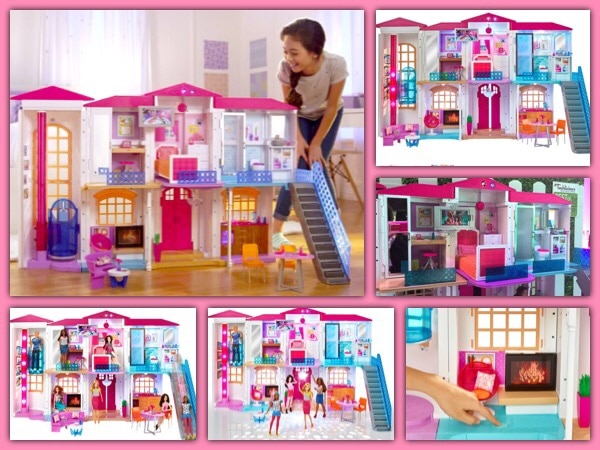 used barbie hello dreamhouse playset retail 299 99 new in box for rh us letgo com