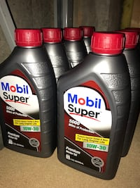 Mobil super motor oil  West Springfield