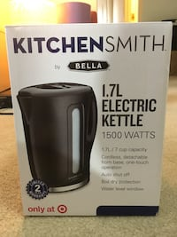 Electric kettle/water boiler Chantilly, 20151
