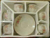 Crockery - cup and saucer set of 6 Harrison, 07029