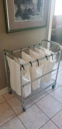 Laundry organizer! Almost new! Easy moving on swiv Hamilton, L8W 3K9