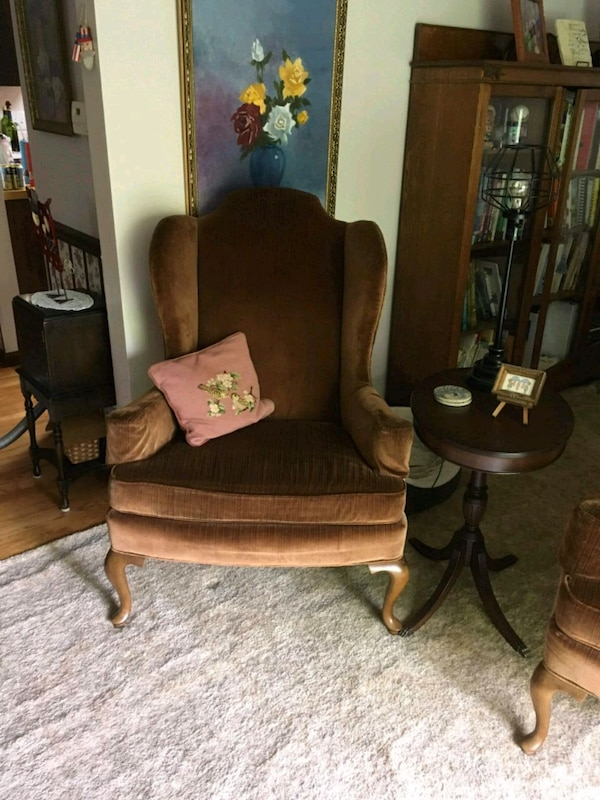 Drexel Heritage Wingback Chairs