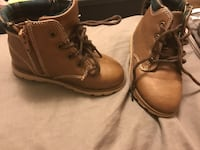 Pair of brown leather work boots Boonsboro, 21713