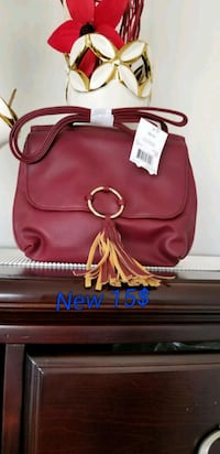 red leather Michael Kors handbag Brampton, L6R