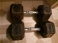 25lbs hex dumbbell. Mississauga