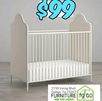Crib no mattress Dallas, 75207