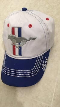 white, blue, and red Ford Mustang curved brim cap Ayden, 28513