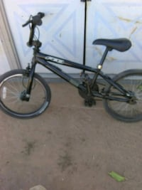 black and gray BMX bike Fresno