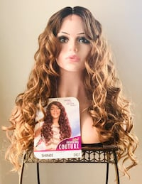 Gorgeous Long Curly Auburn Wig for Everyday  Calgary, T2P