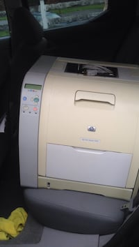 white and beige HP multifunction printer Snohomish, 98296