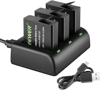 gopro batteries and charger set battery Brampton