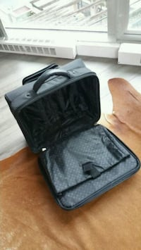black and gray travel luggage 3748 km