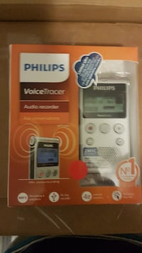 Philips PSP-DVT1300 Tracer Audio Voice Recorder
