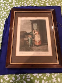 Antique Original Cries Of London Print By Francis Wheatley Calgary, T2E 2N4