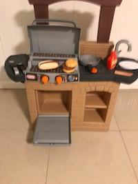 gray and orange grill toy set Clifton, 07013
