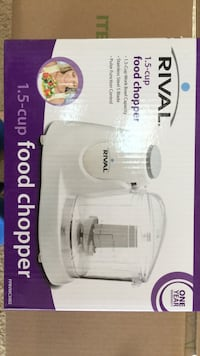 Used Rival 1.5 cup food chopper Madison, 53719