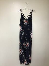 Women's AMY FASHION  jumpsuit w/high slits on both legs Size large Manasquan, 08736