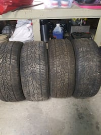 Set of 255/55R18 Tires