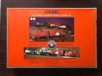 Lionel 6-21753, Lionelville Fire Company's fire rescue, 1998 SS set-Boxed Barrie, L4N 7B1