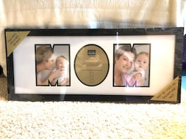 Mom photo frame with 2 mats