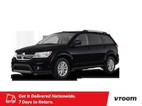 2018 Dodge Journey Pitch Black Clearcoat hatchback
