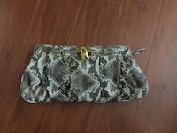 Women's snake leather clutch Burnaby, V5H 4N1