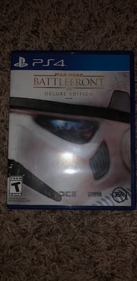 Star Wars Battlefront PS4 video game  Chantilly, 20152