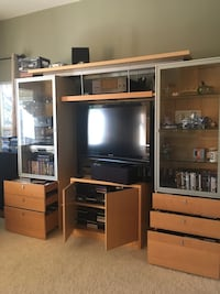 Entertaining center and TV stand 2240 mi