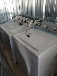 white top-load washer and dryer set Lansing, 48917