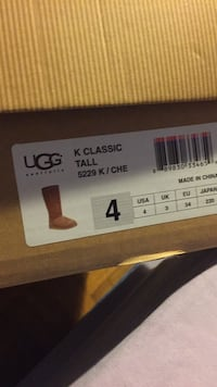 Ugg  tall boots brown