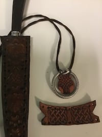 Leather stamping/crafting, gifts and projects.... Chantilly