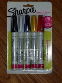 Sharpie Oil based markers 5pack Toronto, M5A 1Z8