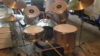 black and gray drum set Burke, 22015