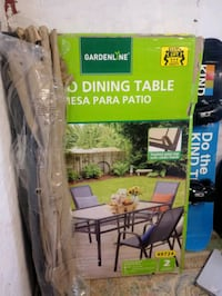Selling a outdoor dinning table