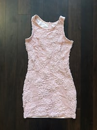 Dusty Rose sequin dress