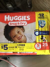 Huggies disposable diaper pack Corona, 92879