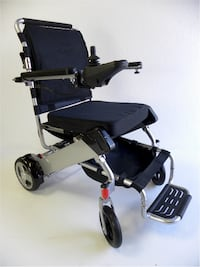 New Scoot-Buddy GX electric folding wheelchair on sale at www.mobility4less.com Miami