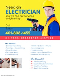 Electrical Services - Negotiable Woonsocket